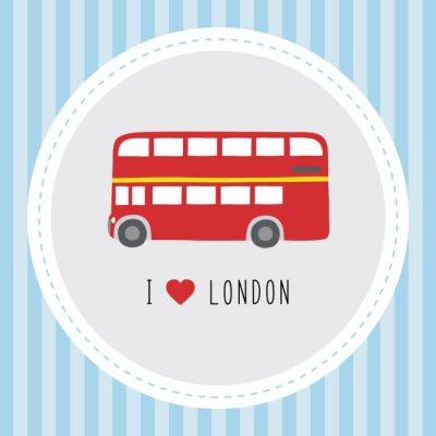 Plakát Miluji London12