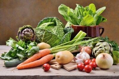 Plakát Mixovaná zelenina