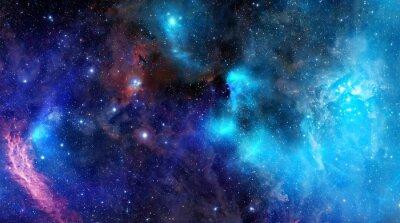 Plakát mlhovina oblak plynu v hlubokém vesmíru
