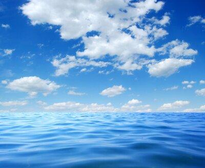 Plakát Modré mořské vody