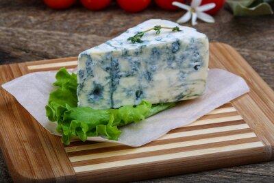 Plakát Modrý sýr