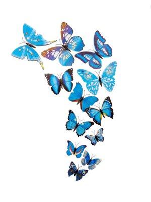 Plakát Motýli samolepky na zeď