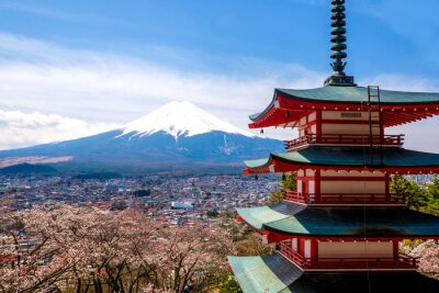 Plakát Mount Fuji, Japonsko