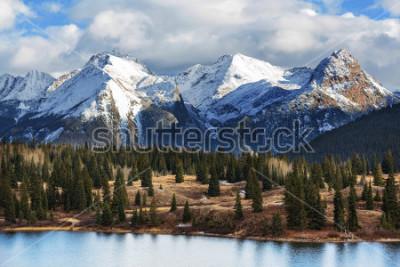 Plakát Mountain Landscape in Colorado Rocky Mountains, Colorado, United States.