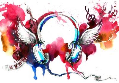 Plakát music