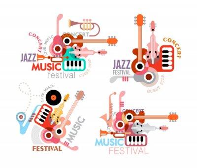 Plakát Music Festival Poster