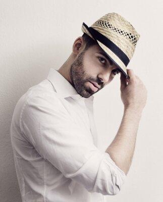 Plakát Muž s kloboukem