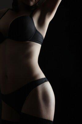 Plakát Nahá žena sexy tělo erotiky