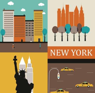 Plakát New York.