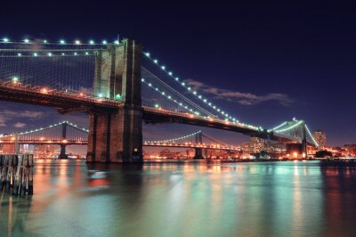 Plakát New York City Manhattan
