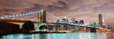 Plakát New York City panorama