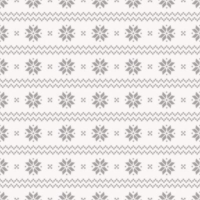 Plakát Norský bezešvé vzor. Vector set.
