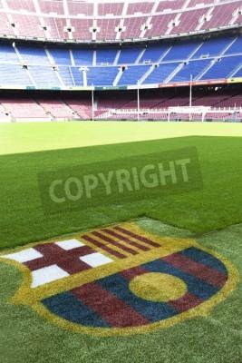 Plakát Nou Camp - Fc Barcelona stadium detail