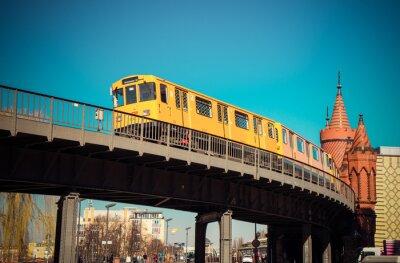 Plakát Oberbaumbrücke
