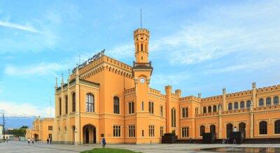 Plakát Obnoven Hlavní nádraží ve Wroclawi, Polsko