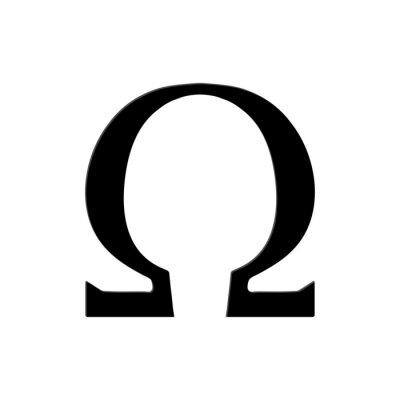 Plakát Omega Symbol