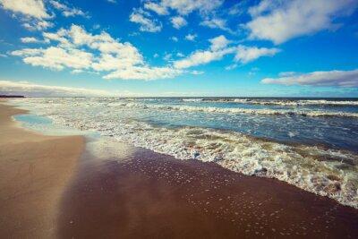Plakát opuštěné pláži