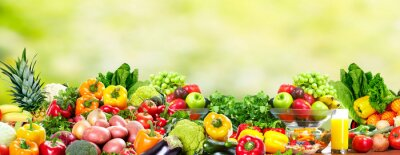 Plakát Ovoce a zelenina.