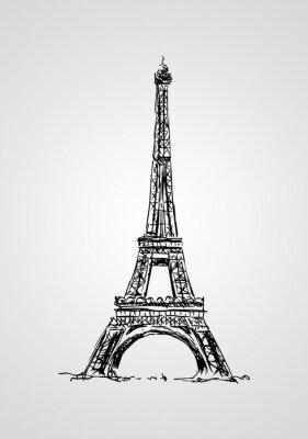 Plakát Paris art design ilustrace