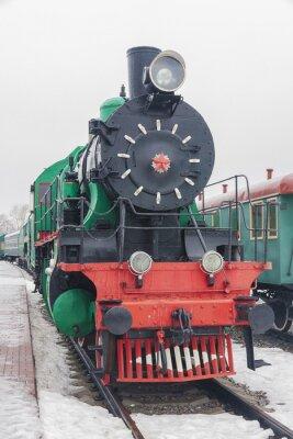 Plakát parní vlak