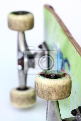 Plakát Particolare ruota skate palubě