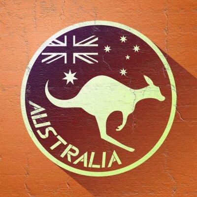 Plakát pěkná ikona Austrálie