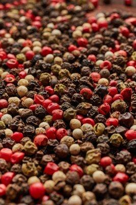 Plakát Pepper koření textura