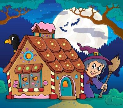 Plakát Perníkový dům téma image 4
