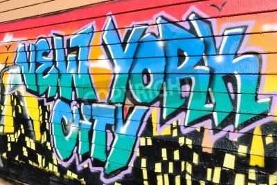 Plakát Pět Pointz, Považován graffiti Mekkou v Queens New York City, je venkovní výstavní prostory představovat četné graffiti artists.October 7, 2010.
