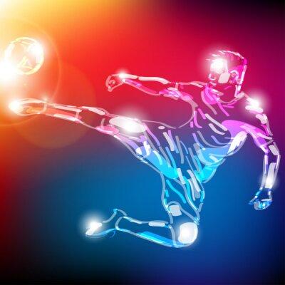 Plakát piłka nożna Wektor