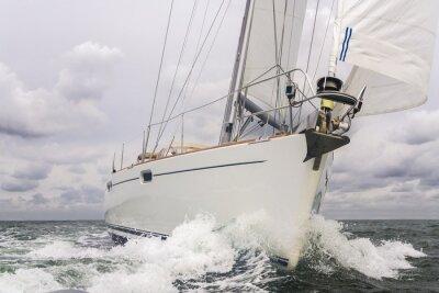Plakát Plachetnice Yacht