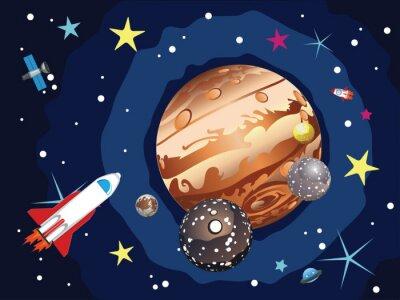 Plakát Planet Jupiter