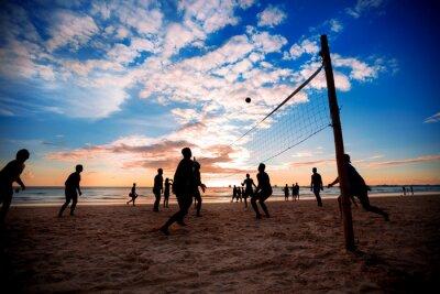 Plakát Plážový volejbal
