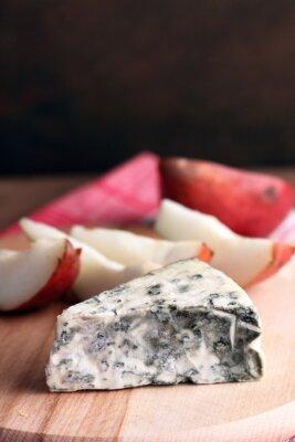 Plakát plísňový sýr a hrušky