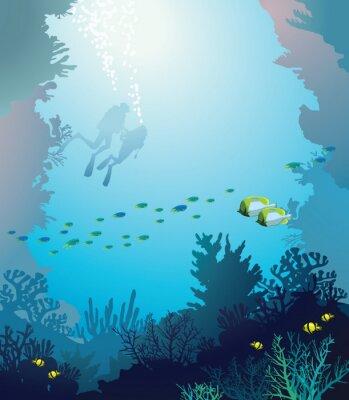 Plakát Pod vodou.