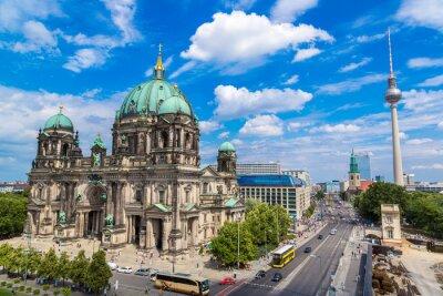 Plakát Pohled na Berlínská katedrála