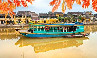Plakát Pohled na staré město Hoi An. Vietnam