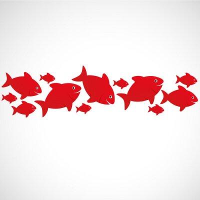 Plakát poisson rouge
