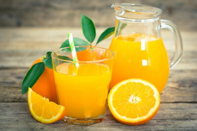 Plakát pomerančový džus