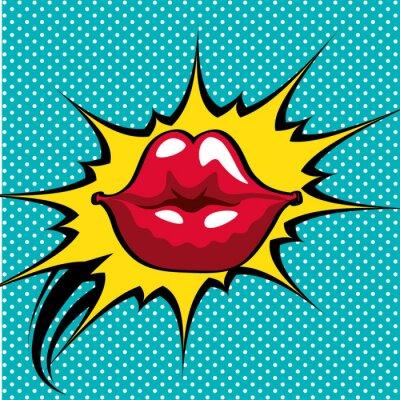 Plakát pop art designu
