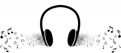 Plakát Poslouchat hudbu