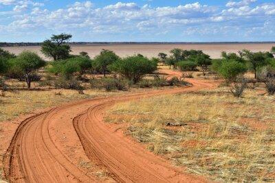 Plakát Pouště Kalahari, Namibie