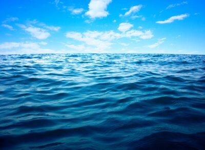 Plakát Povrch Modré mořské vody