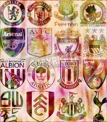 Plakát Premier League