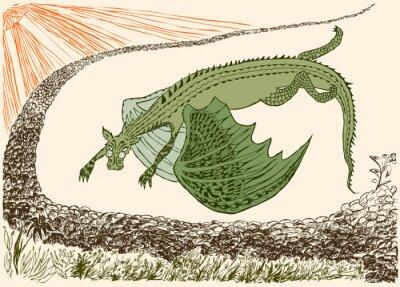Plakát Přijel fantastický drak