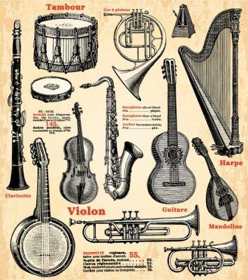 Plakát Přístroje de musique