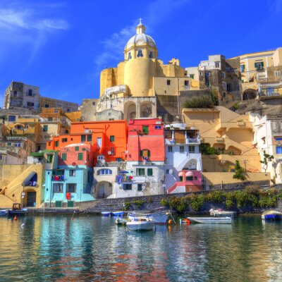 Plakát Procida, Isola nel mar Mediterraneo, Neapol
