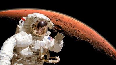Plakát Prvky obrazu jsou vybaveny NASA