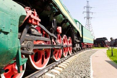 Plakát Rail silniční lokomotiva