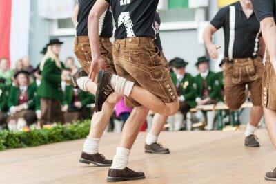 Plakát Rakousko lidový tanec